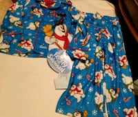 New 2T Toddler Boys Frosty the Snowman PJ's Washington, 20011