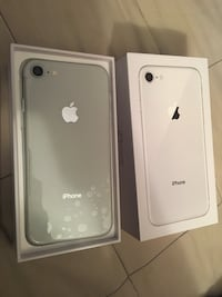 Iphone 8 64GB Silver Unlocked Brampton
