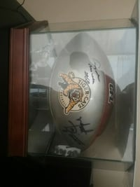 Signed tiger cats football Waterloo, N2L 1V6