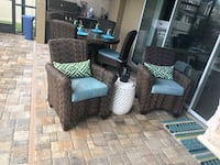 Triple wicker (high end) relax collection patio set Wesley Chapel, 33544