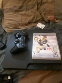 black Sony PS3 500GB game controller Surrey, V3X 3P3