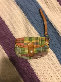 Authentic Dooney & Burke Wristlet Boston, 02125