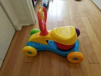 toddler's yellow and blue ride on toy Jersey City, 07306