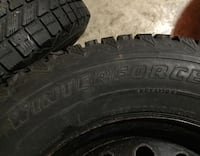 Winter tires on rims 225 70 r16 5x120.7 Guelph