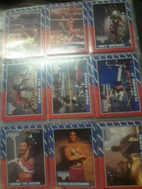 American gladiators cards