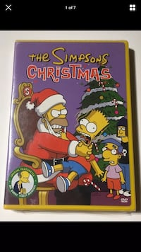 The Simpsons Original Christmas DVD Video Disc W/ Special Featurette NEW/SEALED London, N6G 2Y8
