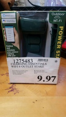 OUTDOOR WIFI OUTLET STAKE