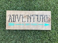 Adventure Barnwood Sign Airdrie, T4A 0M1