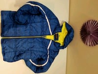 blue and yellow zip-up bubble jacket Vaughan, L6A 2M5