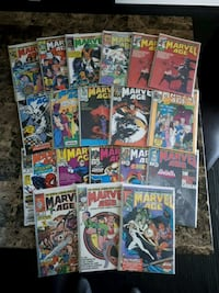 Large Marvel age comic book lot Brampton, L7A 2R8