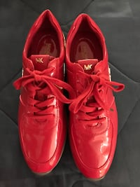 Michael kors red patent leather sneakers Clinton, 73601