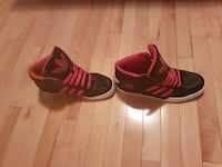 Pink and Black Adidas High Tops SAINTALBERT