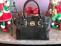 Olive Green Michael Kors leather & suede handbag 60 km