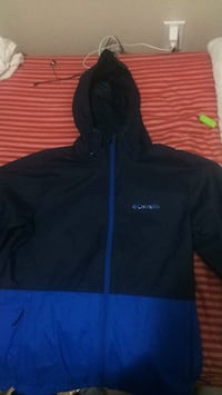 black and blue Nike zip-up hoodie Delta, V4E 1X5