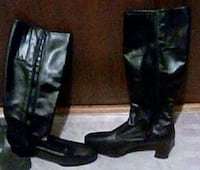 Leather boots..brand new..size 9 1/2 Hibbing