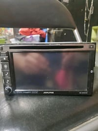 Alpine car stereo touch screen perfect condition call  [TL_HIDDEN] 50$