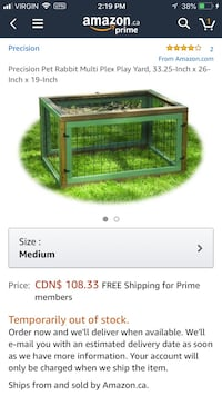 Brand new in box small animal cage Greater Napanee, K7R 4C3