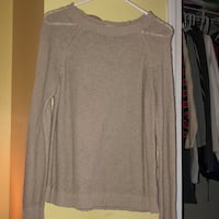 forever 21 beige sweater