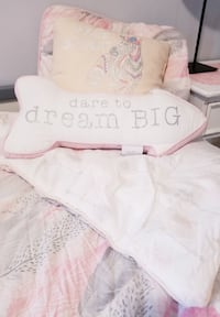 girls boho inspired bedding set
