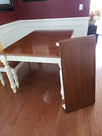 MUST GO Kitchen Farm Table with two benches Surfside Beach