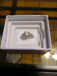 Sterling silver ring size 7 Leicester, 01542