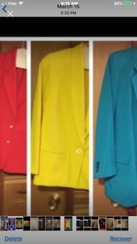 3 Medium Blazer Mint Condition  Toronto, M4A 1T7
