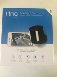 New Ring Wireless Outdoor Cam 欧文, 92620