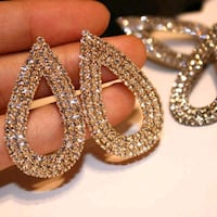 Bling earrings