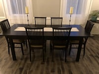 Dinning room table and chairs  New Tecumseth
