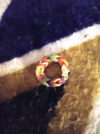 Rubber band rings and kid bracelet  Rehoboth Beach, 19971