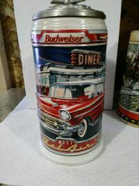 Highly Collectable Budweiser Stien  Anoka