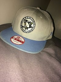 gray and blue New Era Pittsburgh Penguins 9Fifty snapback cap