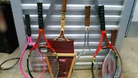4 tennis rackets and 2 racquetball rackets Frederick, 21701