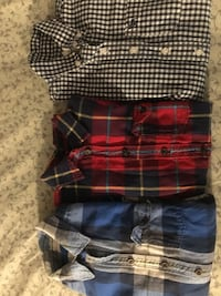 Two small one large Abercrombie shirts.   Great condition Nashville, 37211