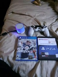 two Sony PS4 game cases and PS4 controller Tampa, 33602