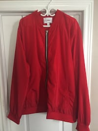Mens Red Bomber Jacket (3XL) Whitby, L1P 0A6