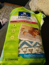 Canine diapers