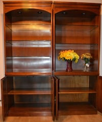 brown wooden 3-layered shelf Inwood, 25428