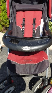 black and red Graco stroller TORONTO
