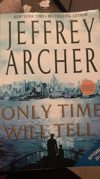 Only time will tell book by Jeffrey Archer Durham, 97224