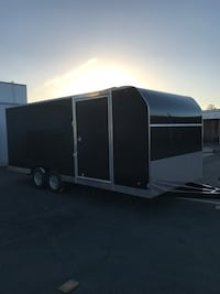 Brand new 2018 enclosed trailer 8.5x20x7