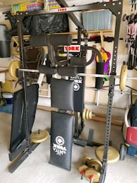black and gray exercise equipment Bradford West Gwillimbury, L3Z 3H9