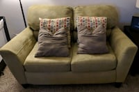 Love seat and chair set sold together  Roswell