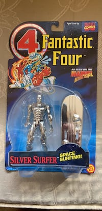 Silver Surfer Marvel comics action figure 1994