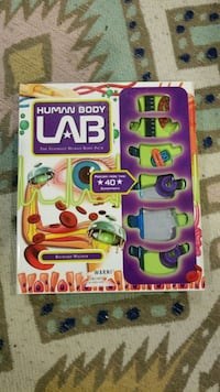 Human Body Lab experiment game