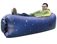 Inflatable Lounger Portable Hammock Air Sofa with Water Proof,Anti-Air Leaking Design,Ideal Inflatable Couch and Beach Chair Camping Accessories for Parties Picnic&Festival Hamden, 06514