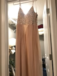 Elowen BHLDN gown (oyster color, never worn, tags on) Edmonton, T6W 0Y7