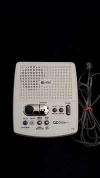 AT&T Home Phone Answering Machine, Digital Messaging System, Voicemail Edmonton