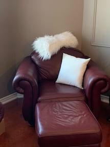 Couches full leather 4 pieces
