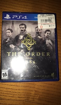 PS4 The Order video game case Jefferson, 97352